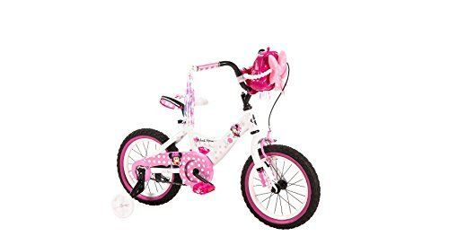Girls' 14 Inch Huffy Minnie Mouse Bike. Girls' 14 Inch Huffy Minnie Mouse Bike.