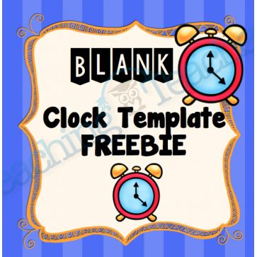 The 25+ best Blank clock ideas on Pinterest Learn to tell time - clock templates