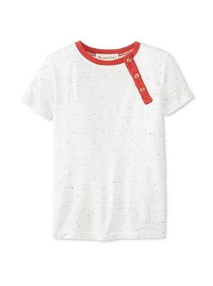 60% OFF Peas & Queues Kid's Thompson Henley (Oatmeal)