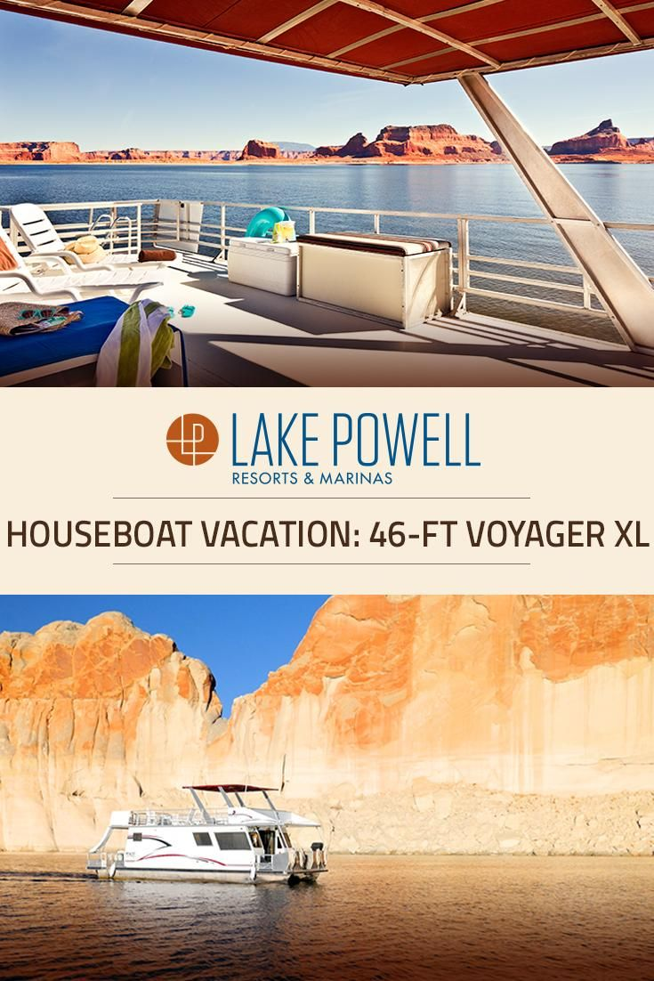 Planning a Lake Powell houseboat vacation? The Voyager XL is the perfect size to explore Lake Powell's canyons and secluded beaches.