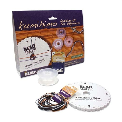 BEADSMITH KUMIHIMO BRAIDING KIT FOR BEGINNERS EASY TO LEARN from beadaholique.com