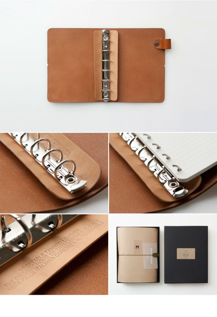 Hevitz Vegetable Leather Diary Cover - SeoulPicks.com
