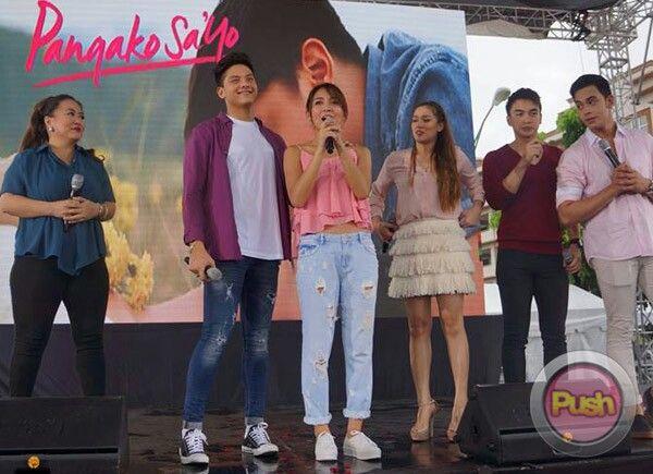 Pangako sayo cast 2019 celebrity