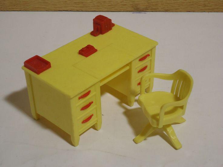 30 Best Vintage Plastic Dollhouse Furniture Whimsy Images On Pinterest Dollhouse Furniture