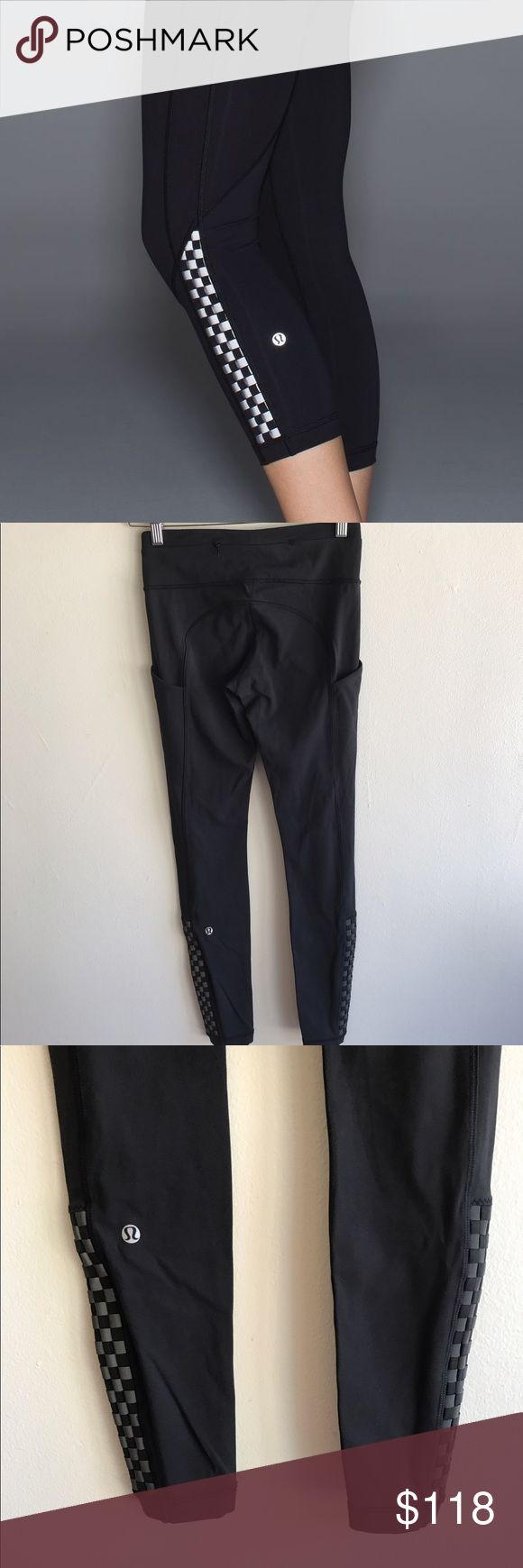 🍋Lululemon Run: Rare Speed Leggings 🔸Lululemon Run: Rare speed Leggings with reflective weaving towards the bottom 🔸Size 4 🔸EUC              Please let me know if you have any questions! 🙂🌺 lululemon athletica Pants Leggings