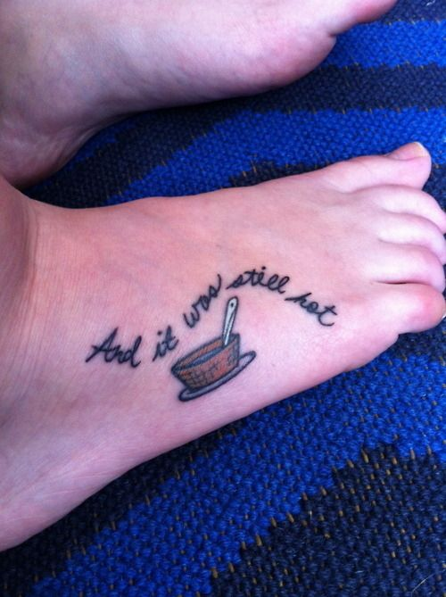 "50 Incredible Tattoos Inspired By Books -- ""And it was still hot."" is my favorite line from Where the Wild Things Are!"