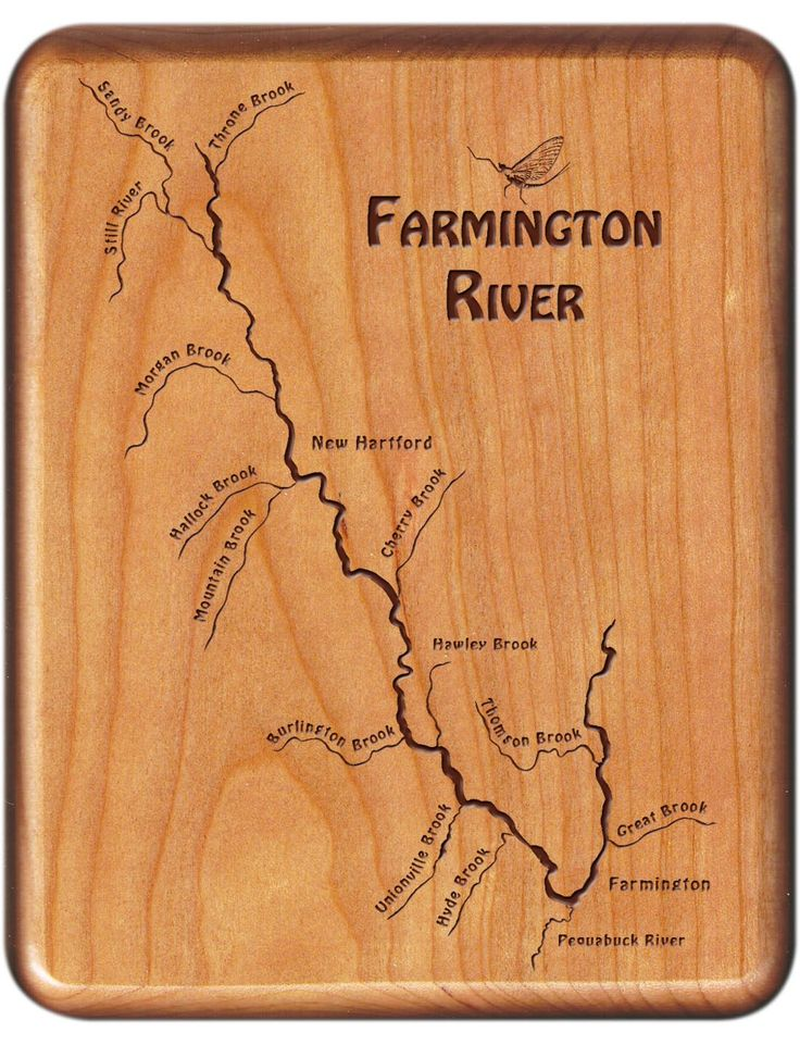 17 best images about northeast united states river map fly for Farmington river fishing
