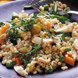 Lemon barley pilaf with chicken @ allrecipes.co.uk