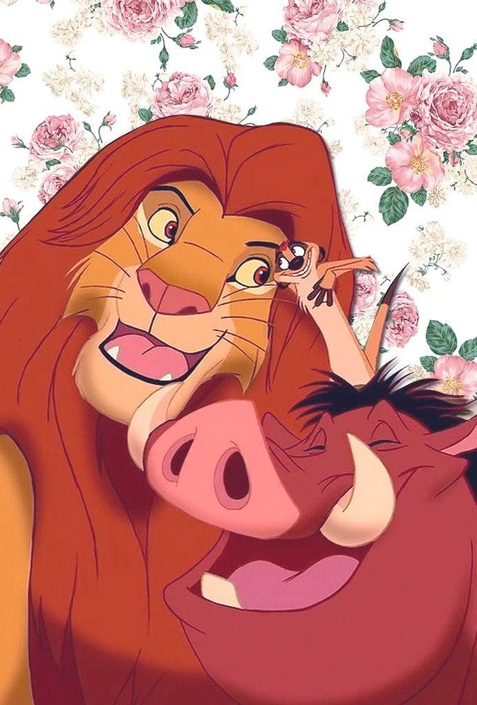 phone wallpaper disney | Tumblr - wallpaper | lockscreen | papel de parede | plano de fundo | background | disney | timão e pumba | rei leão | lion king