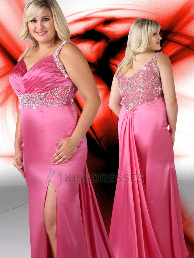 Best 26 Plus Size Prom Dresses images on Pinterest | Weddings