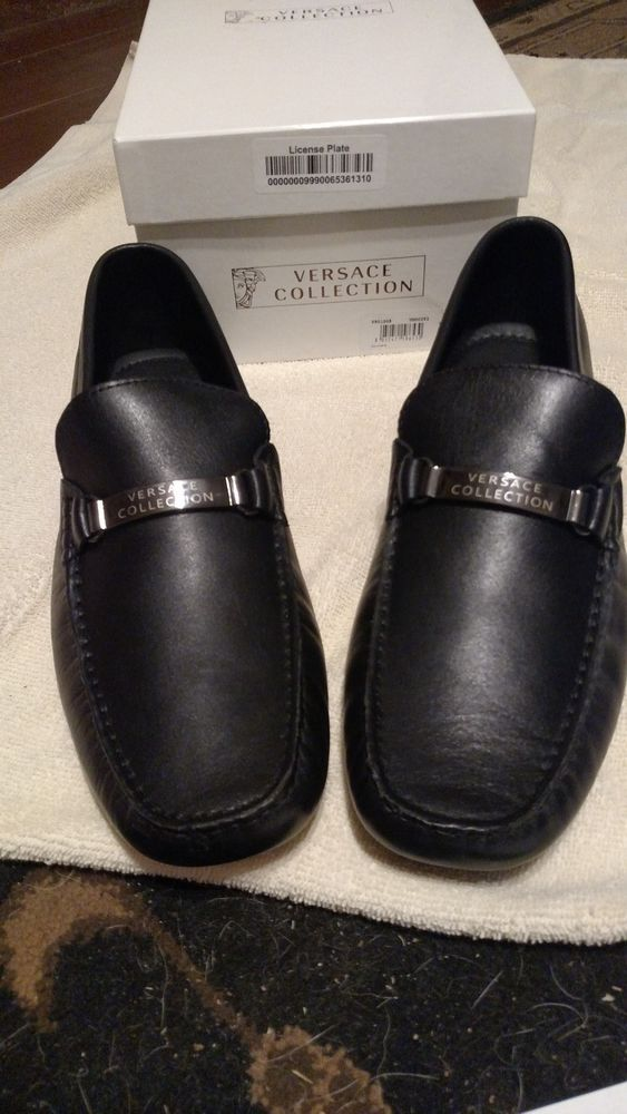 33b9f03a9fa NEW in the box VERSACE COLLECTION Men s Black Leather Loafer V90100S   fashion  clothing  shoes  accessories  mensshoes  dressshoes (ebay link)