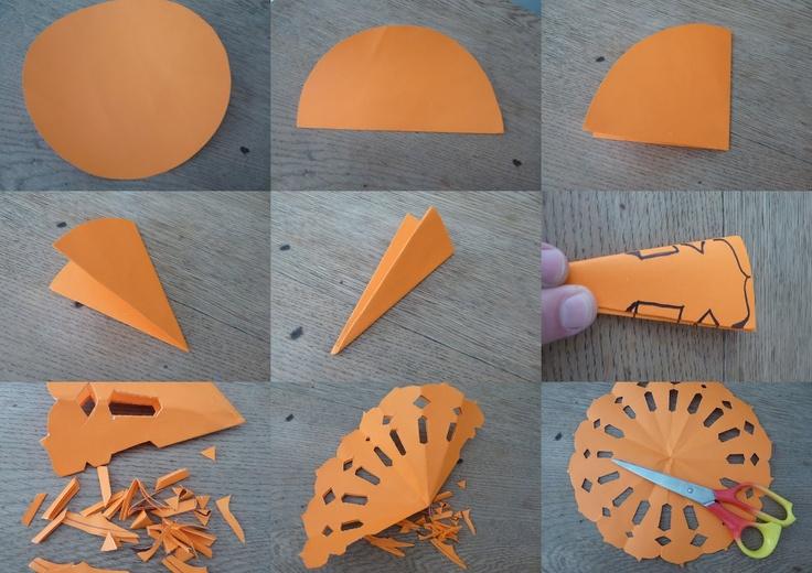 Tutorial para armar blondas de papel artesanales en el - Blondas de papel ...