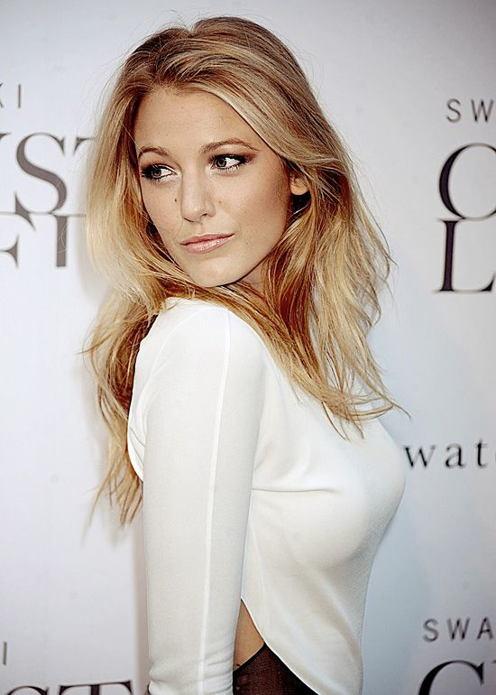 Blake lively wavy hair gossip girl
