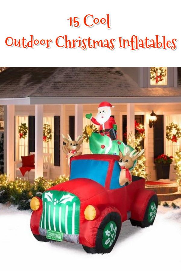 26 Best Inflatable Outdoor Christmas Decorations 2021 Absolute Christmas Inflatable Christmas Decorations Outdoor Outdoor Christmas Christmas Yard Decorations