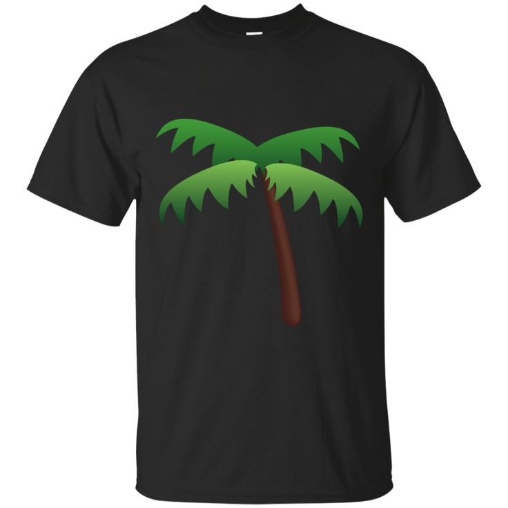 Palm Tree Emoji G200 Gildan Ultra Cotton T-Shirt