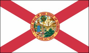 Florida State Flag - About the Florida Flag, its adoption and history from NETSTATE.COM