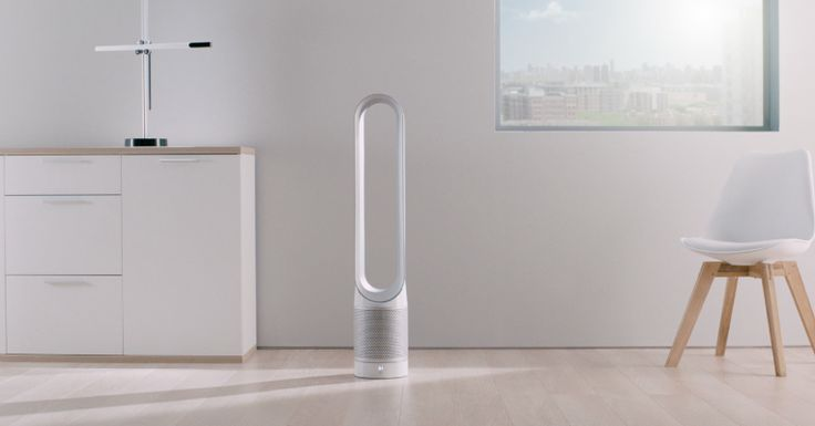 Dyson's new purifier fan purportedly tackles the problem of home air quality  |  TechCrunch