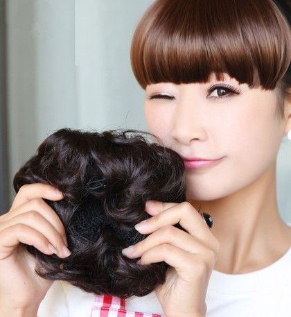 17 best images about bangs wig wraps ponytail on
