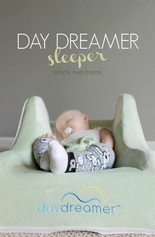The Dex Day Dreamer Sleeper is a must for babies with sleep issues and/or reflux!