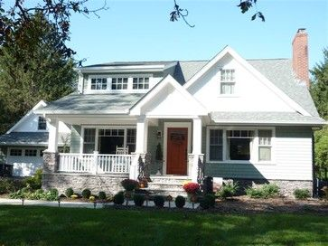 New Porch, & Shed Dormer Addition In Huntington, NY traditional-exterior