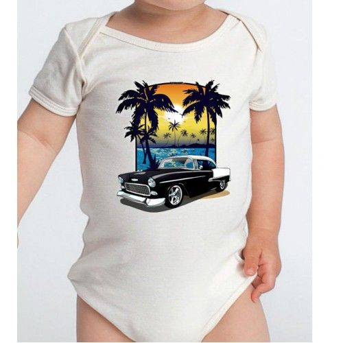 Black and White 1955 Chevy Bel Air Beach Printed Cotton Baby Onesie http://www.rpm-art.com/chevrolet/1955-Chevy-BelAir/1955-Black-White-Chevy-BelAir/1955-black-white-chevy-belair-beach/black-white-1955-chevy-belair-beach-onesie #chevrolet #chevybelair #belair #1955belair