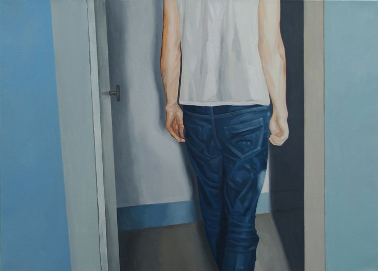 into,oil on canvas,53.0 ×72.7cm, 2012