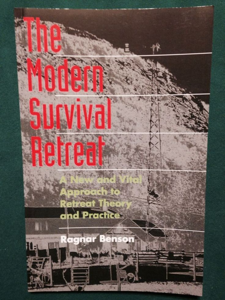 The Modern Survival Retreat by Ragnar Benson - Paladin Press