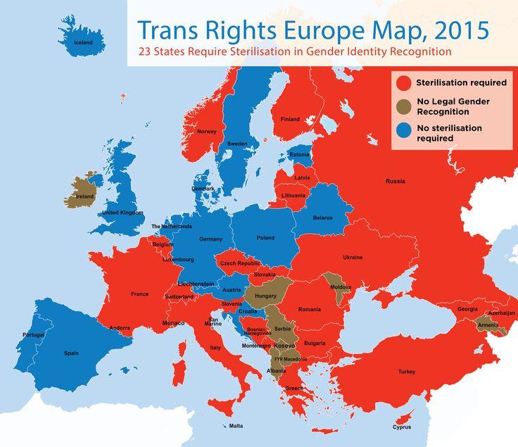 En France, les transgenres doivent être stérilisés pour qu'on reconnaisse leur identité