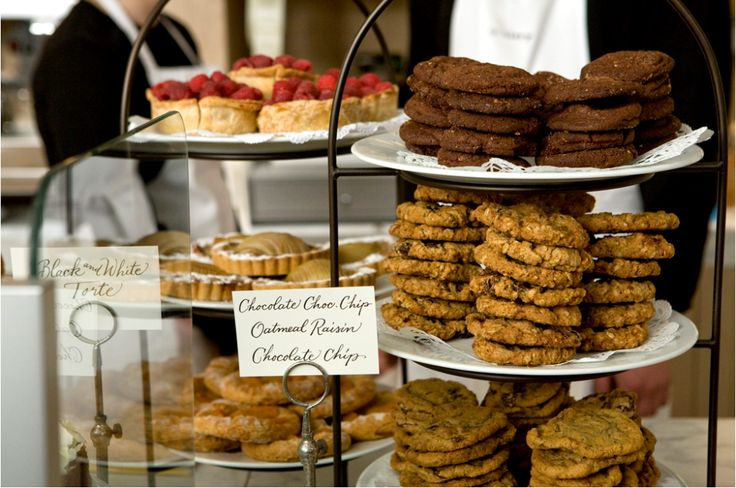 Bakery display trays are a great idea.| Find them here: http://www.foodservicewarehouse.com/search/International+Tableware+Three-Tier?utm_source=social&utm_medium=pinterest&utm_campaign=site
