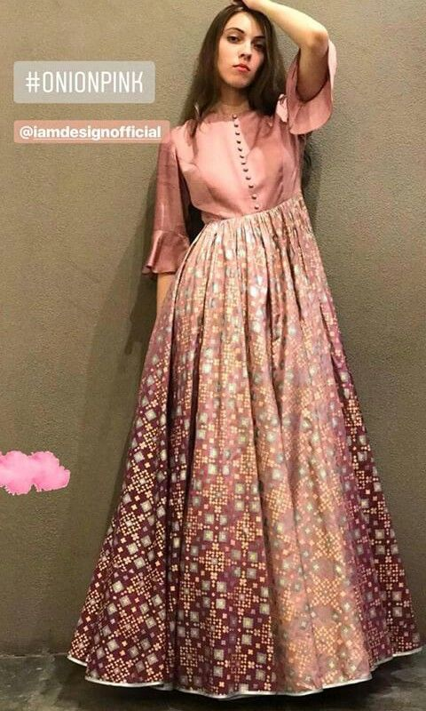 69acfe6fa Ethnic gown for party