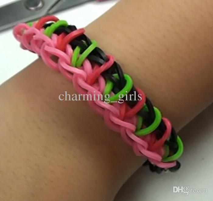 Rainbow Loom Kit Rubber Band Hottest Kits Bands Diy Bracelets