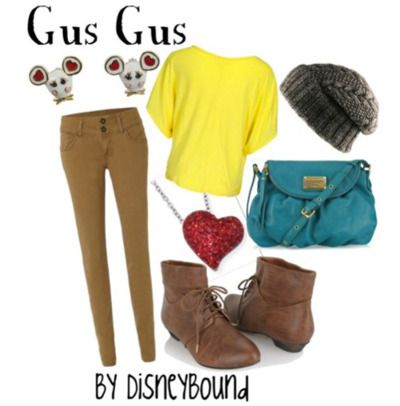 By DisneyBound: Disney Outfits, Style, Gusgus, Disney Inspired, Disney Bound, Disneybound, Gus Gus, Disney Fashion