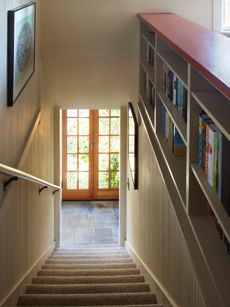 Stair Bookcase 26 best stair way redo images on pinterest | stairs, banisters and