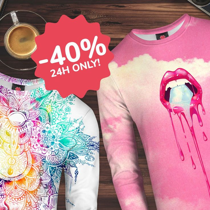 We are back with 24h #SALE! This time we've got for you #fullprinted #sweaters with -40%! Sounds interesting? Come and check all the designs and patterns!😊👇 https://liveheroes.com/en/shop/women/sweater?special=featured
