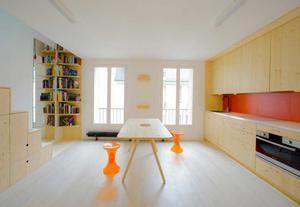 Come progettare 32 metri quadri a Parigi