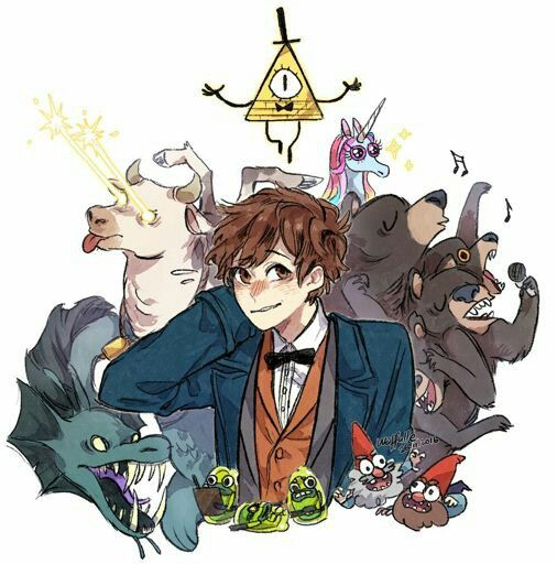 Fantastic falls | fantastic beasts and gravity falls crossover