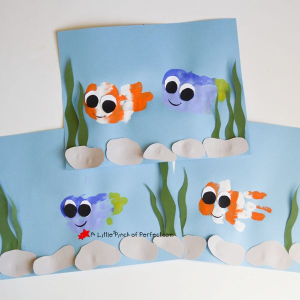 After our Ocean Sensory Activity we needed to make an ocean themed craft, so inspired by our favorite clown fish and blue tang fish, we painted Nemo & Dory. Finding Nemo was my daughter's first favorite movie, and ever since she has been a little Disney fan! When she was two we bought her a mini …