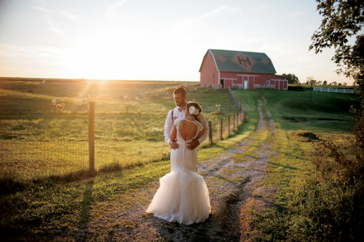 Couples tie the knot at indiana farm weddings farm
