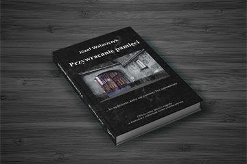 """Projekt okładki  książki """"Przywracanie pamięci"""""""