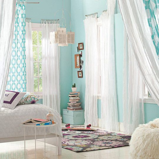 White Bedroom Curtain Ideas Bedroom Colors Ideas For Men Printable Bedroom Wall Art Bedroom With Lighting: 25+ Best Ideas About Aqua Bedrooms On Pinterest
