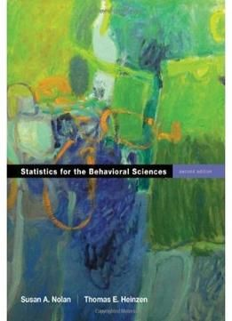 Statistics For The Behavioral Sciences 2 Edition