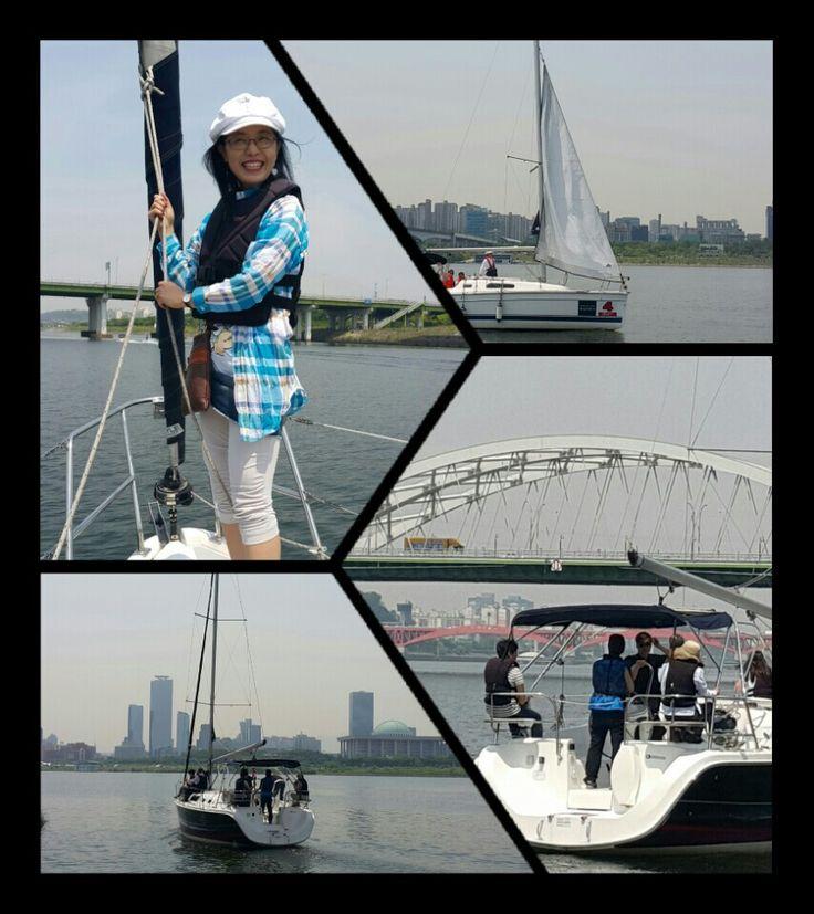 여의도 마리나 요트(Marina Yacht), 카페브리즈 Cafe Breeze .2015.05.28 (Fri.) #KBS  #한국방송  #마리나요트  #MarinaYacht  #KBS강성실
