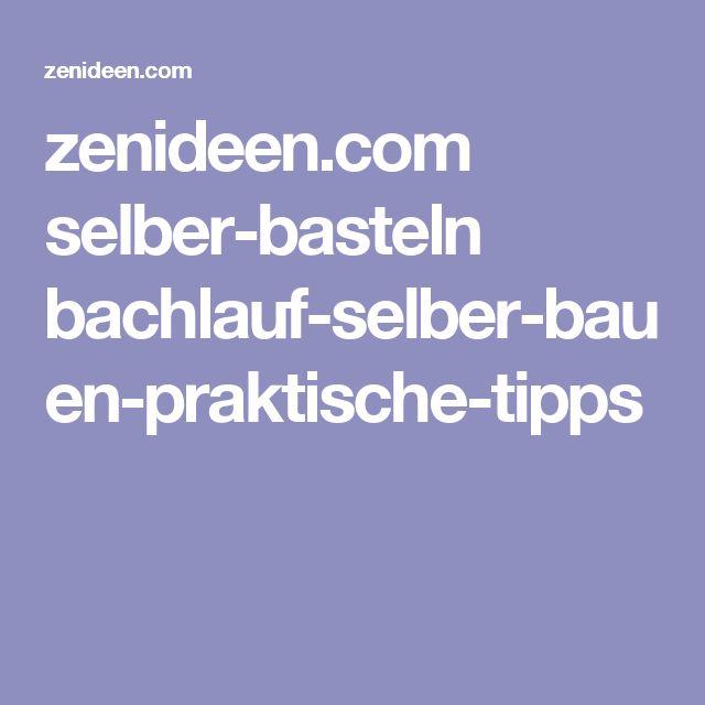 zenideen.com selber-basteln bachlauf-selber-bauen-praktische-tipps