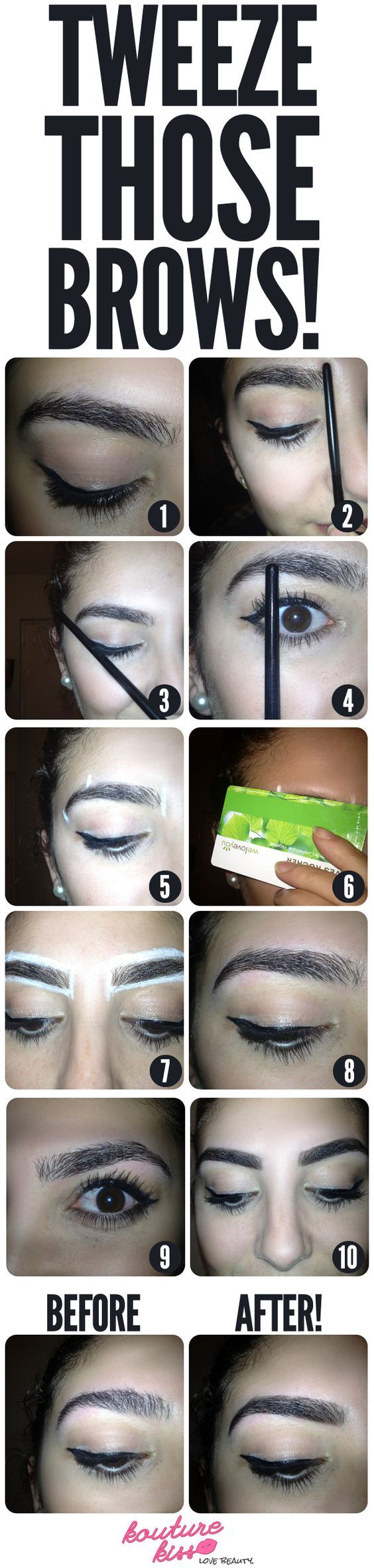Tutorial: Tweeze Those Eyebrows! - Handy but you need to read the step by steps for it to make sense.: