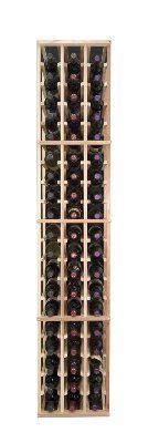 3-Column Individual Bottle Wine Rack, Premium Redwood Unstained. by Midwest Homebrewing and Winemaking Supplies. $194.99. The 3-Column Individual Bottle wine rack supports the same design as the 5-Column Individual Bottle wine rack, but in a smaller width. Each bottle is cradled on two rails that are cut with beveled ends and rounded edges which ensure the labels will not tear when the bottles are removed. The 3-Column Individual Bottle wine rack is 3 columns wide by 19 row...