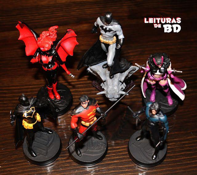 Leituras de BD/ Reading Comics: Figuras de Chumbo: Família Batman