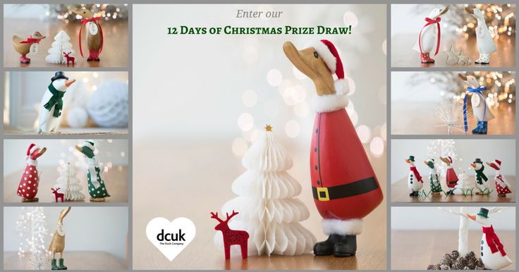 Enter the DCUK 12 days of Christmas Prize Draw!