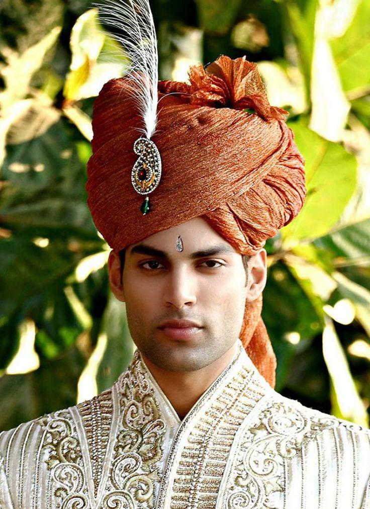 india turban | Ethnic Rust Turban - Turbans - Men