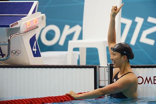 Aya Terakawa at London@8年ぶりの五輪で躍動した寺川綾。~ロンドン五輪2012~