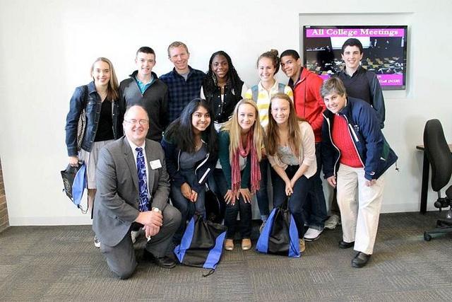 Williston students attending Deerfield Academy's Youth Conference on Underage Drinking Prevention. WillistonNorthampton Flickr